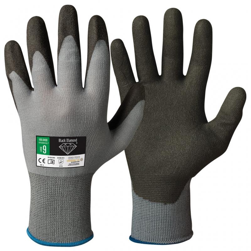 werk / tuin handschoenen Black Diamond-XS - 6