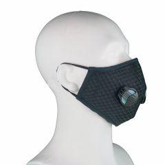 (ultra)-Fijnstof mondkapje / masker > Fijnstof mondkapje Black Sports incl. 2x active koolstof filter