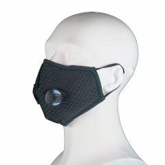 Fijnstof / hooikoorts mondkapjes > Fijnstof mondkapje Black Sports incl. 2x active koolstof filter