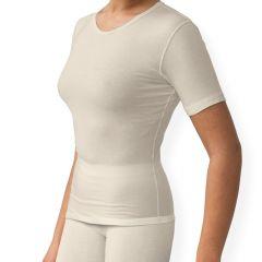 Vrouwen shirt korte mouw > Sanamedi -Zink eczeemkleding vrouwen shirt korte mouw