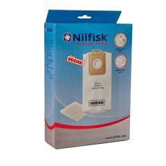 Nilfisk Select serie > Nilfisk stofzakken Select en Power serie, 4 stuks + voorfilter