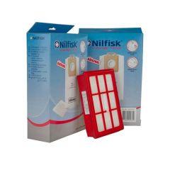 Nilfisk Select serie > Nilfisk SELECT voordeelset 8x stofzak + 2x voorfilter + 1x HEPA13 filter