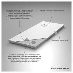 Toppermatras Pantera > Topper Pantera 2-Persoons